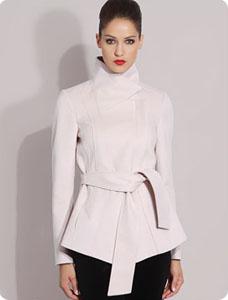 Nouveaux produits 6ceb8 d465e Manteau habillé femme