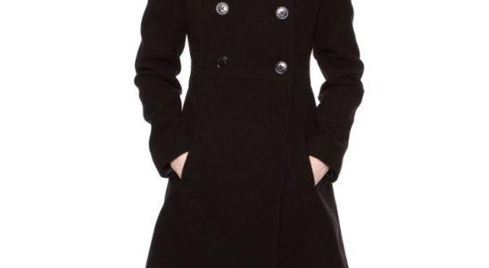 manteau hiver femme noir