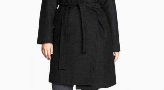 manteau hm femme