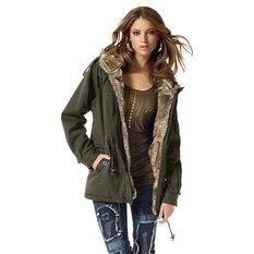 manteau kaki femme