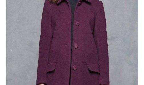 manteau laine et cachemire femme