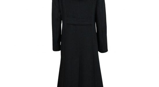 manteau long a capuche femme