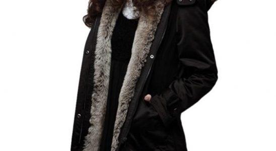 manteau long chaud femme