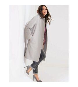manteau long en laine femme