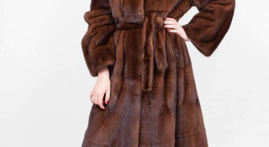 manteau long fausse fourrure femme