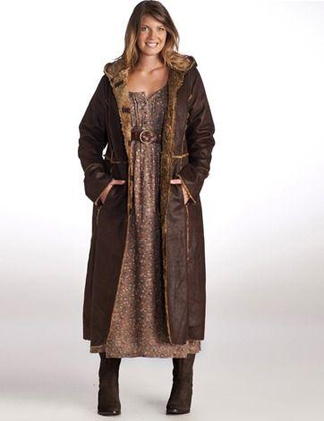 manteau long femme hiver grande taille