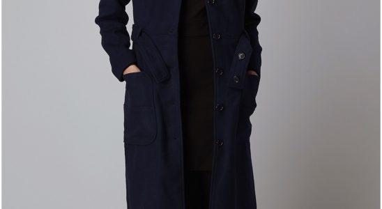 manteau long femme laine