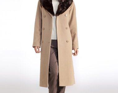 manteau long grande taille femme