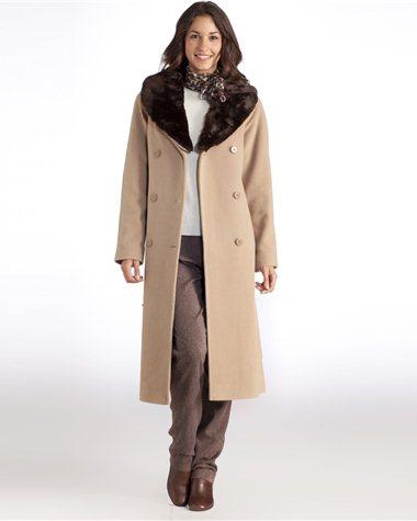 meilleures baskets d4681 239f6 Manteau long grande taille femme