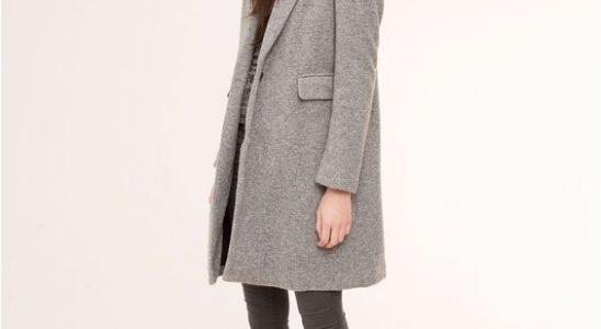manteau masculin pour femme