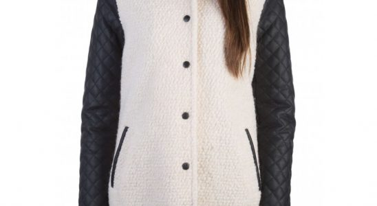 manteau teddy smith femme