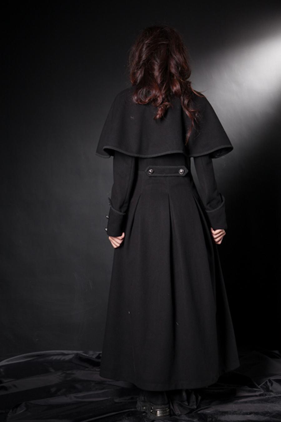 manteau victorien femme
