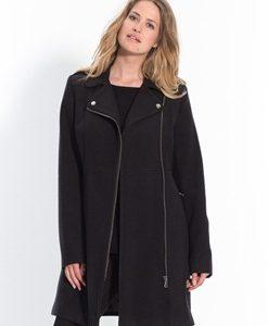 manteau zippé femme