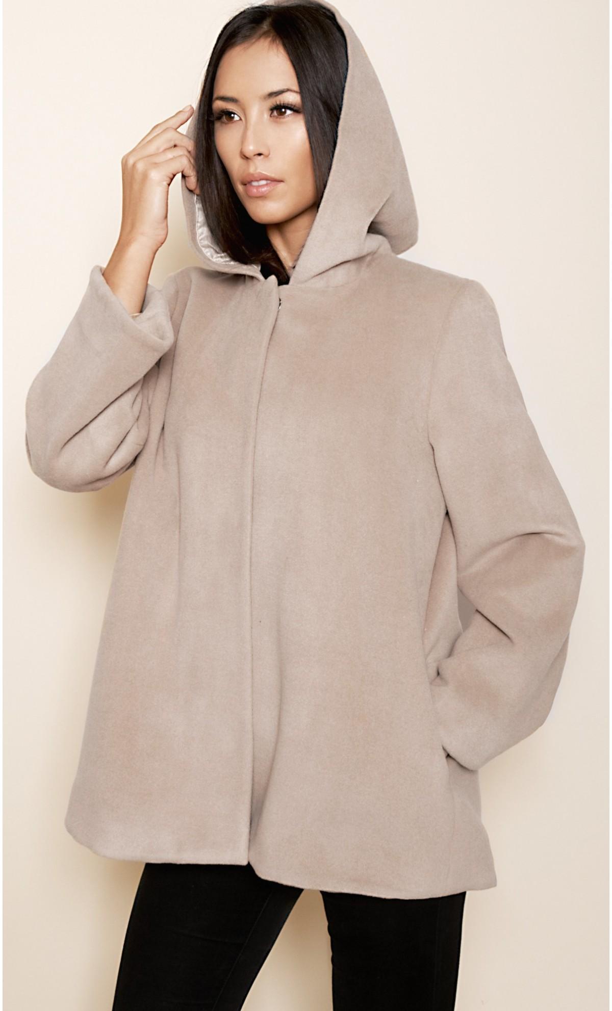 manteaux a capuche femme