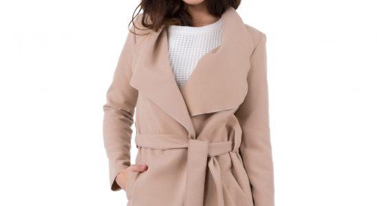 manteaux beige femme
