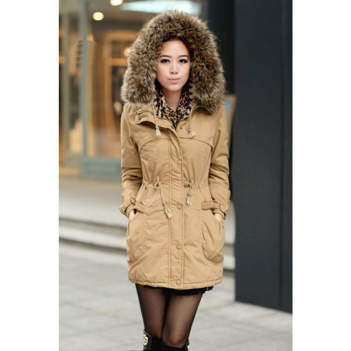 manteaux capuche femme