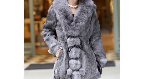manteaux femme fourrure