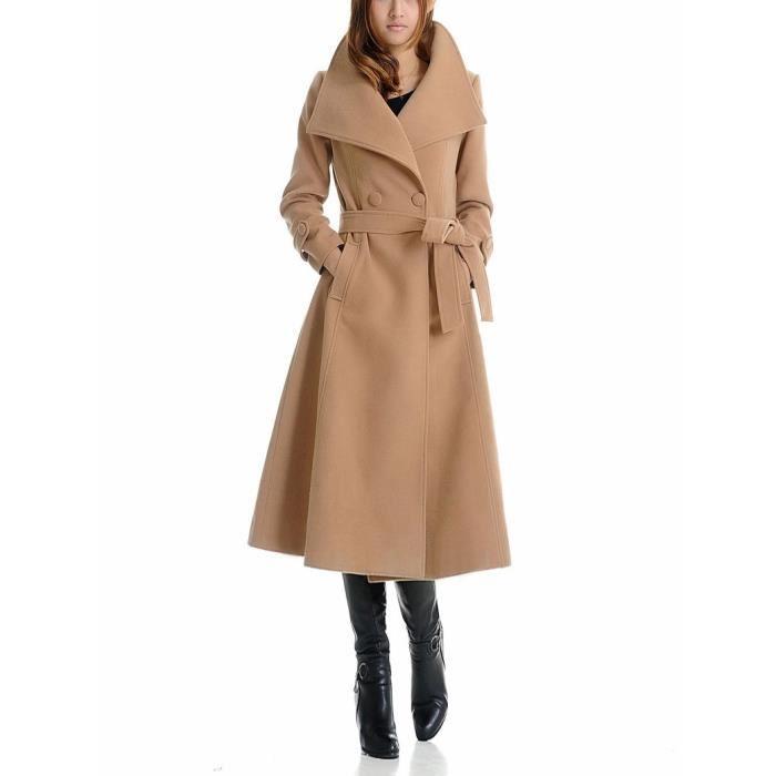 manteaux long femme pas cher