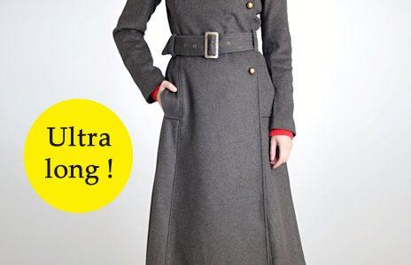 manteaux longs femme hiver