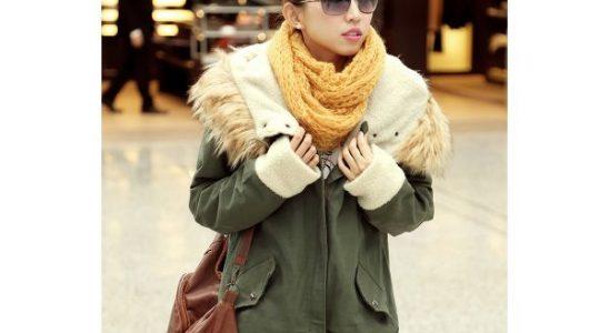 manteaux parka femme
