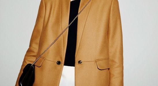 massimo dutti manteau femme