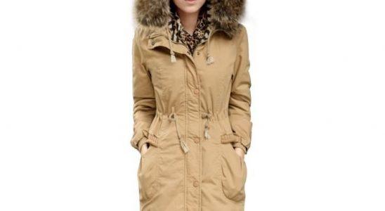 parka femme manteau capuche fourrure