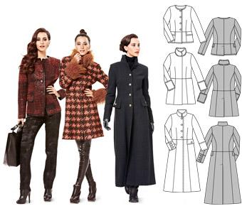 patron de manteau femme