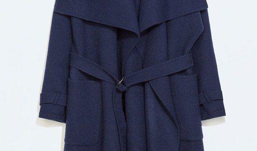 zara femme manteau